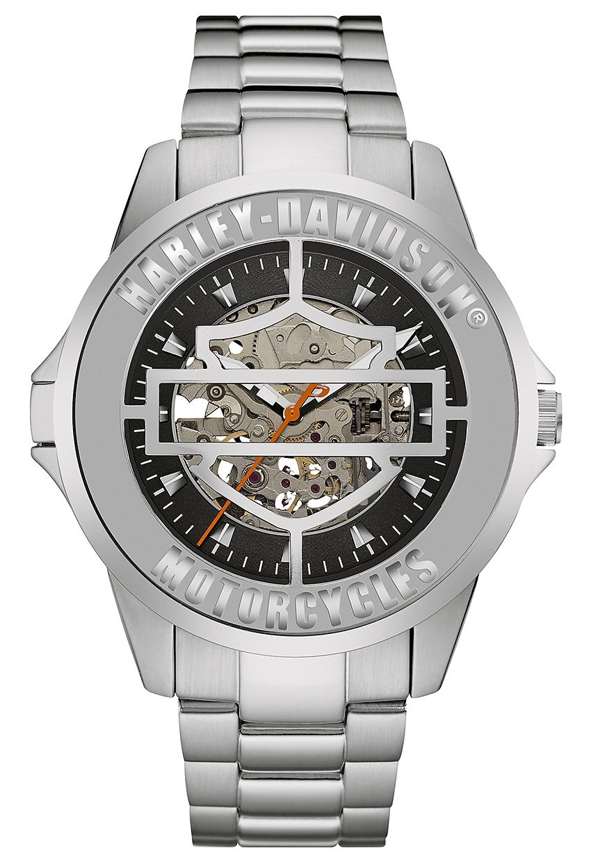 Harley Davidson Automatikuhr »Cover Watch, 76A154«