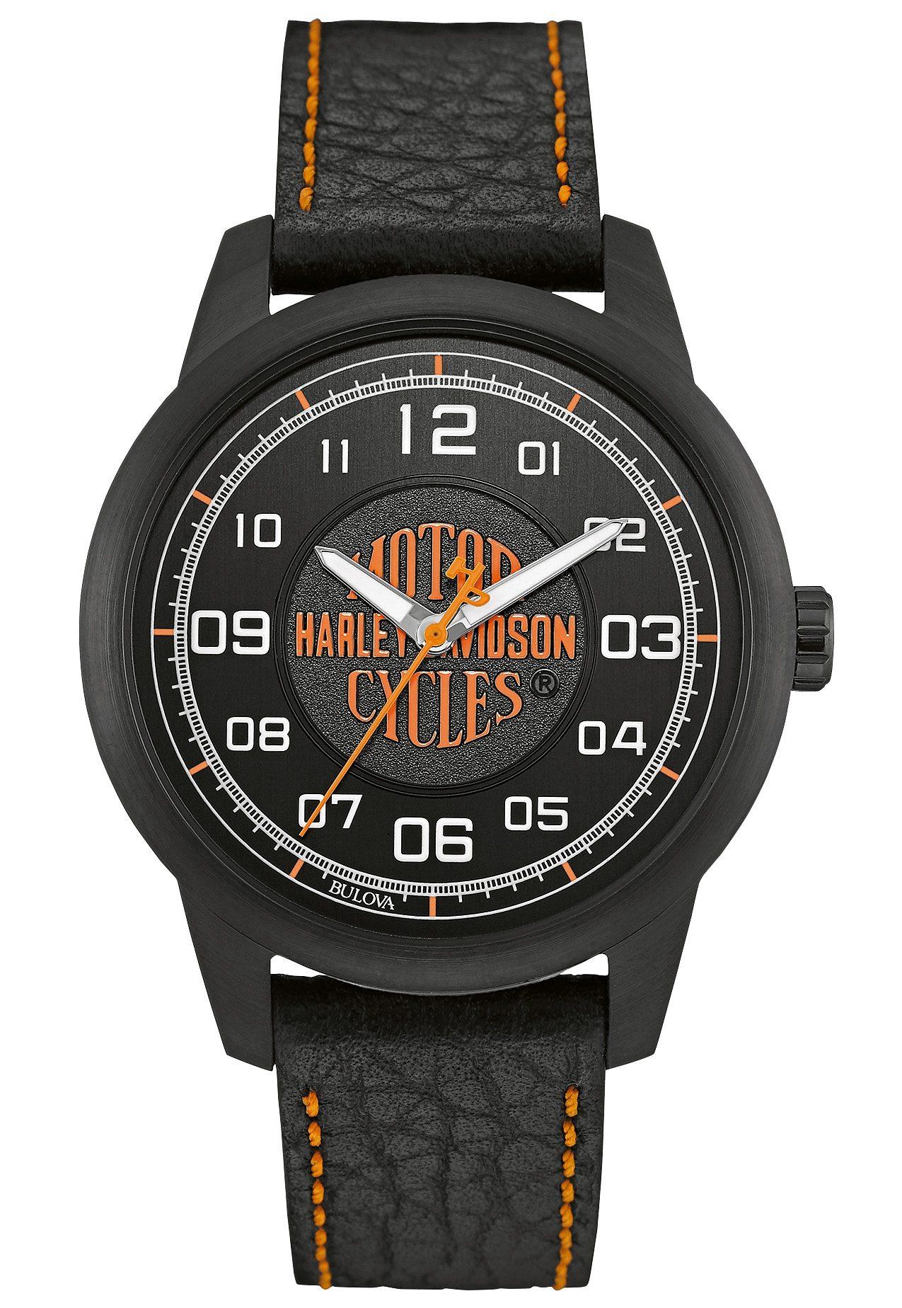 Harley Davidson Quarzuhr »Decals, 78A116«