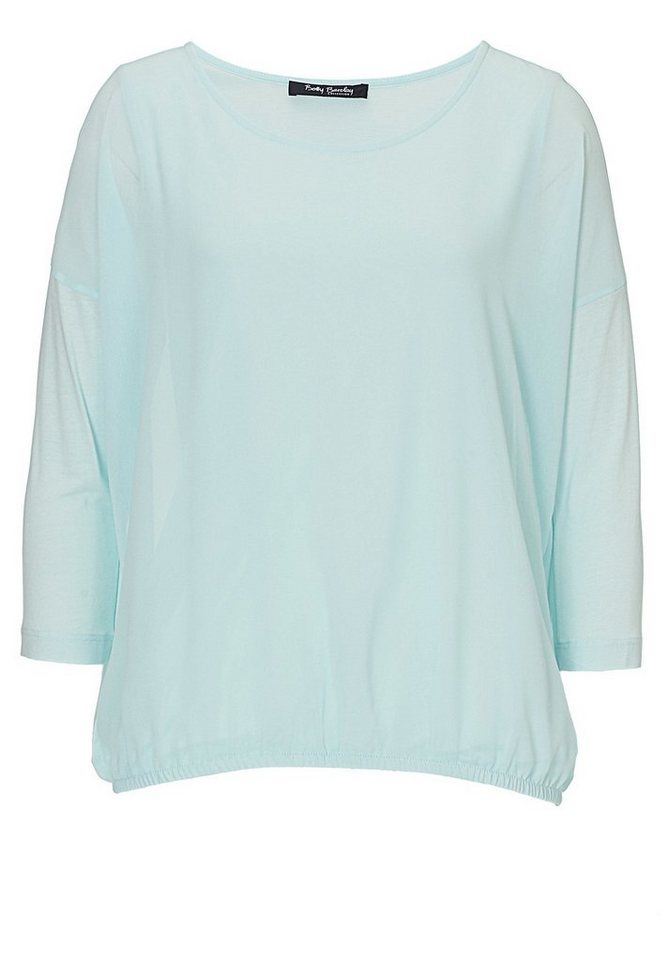 Betty Barclay Damenshirt in Light Mint - Blau