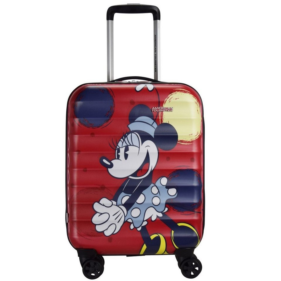 American Tourister Palm Valley Disney Spinner 4-Rollen Kabinen-Trolley 55 cm in minnie style