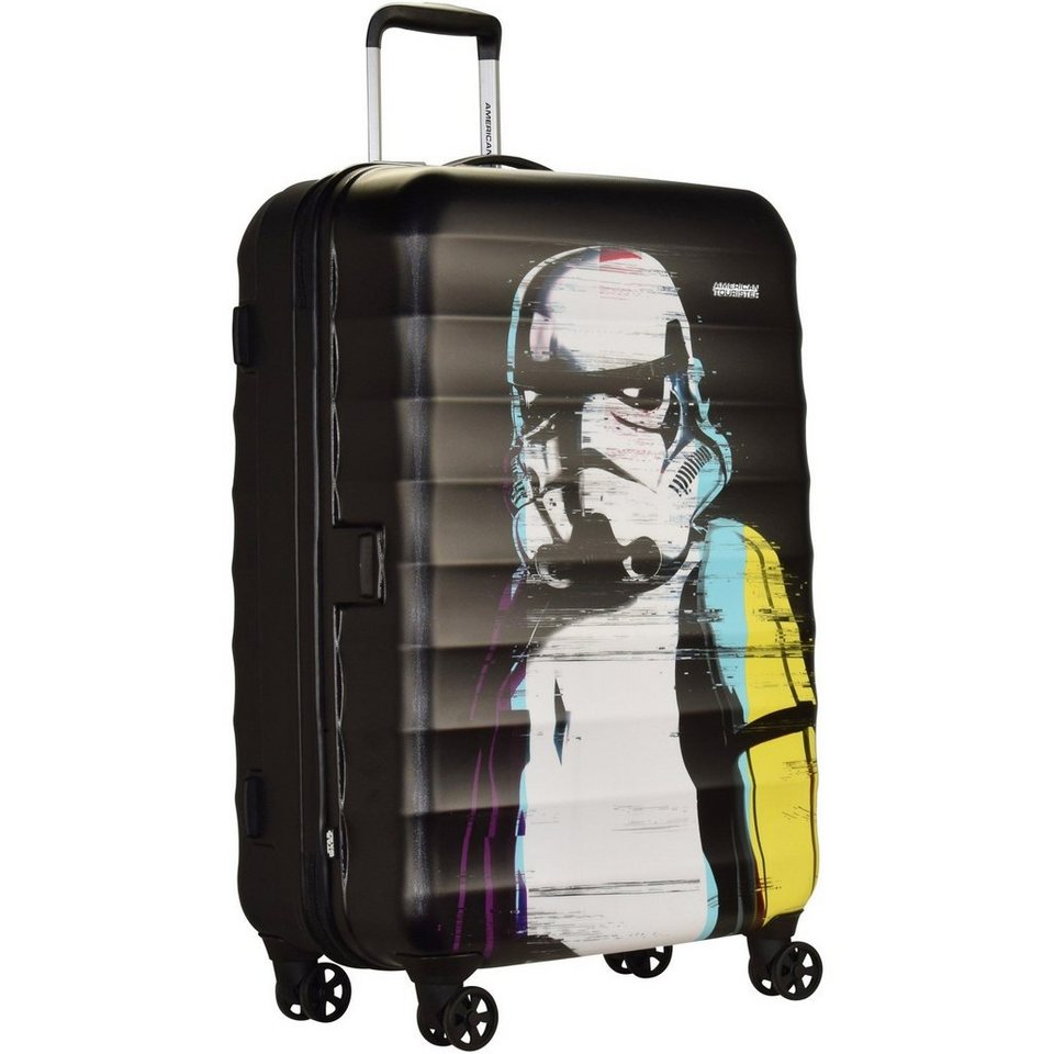 American Tourister American Tourister Palm Valley Disney Spinner 4-Rollen Trolley 7 in star wars glitch