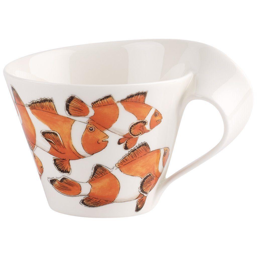 Villeroy & Boch Café au lait Obertasse »NewWave Caffè Clownfisch«