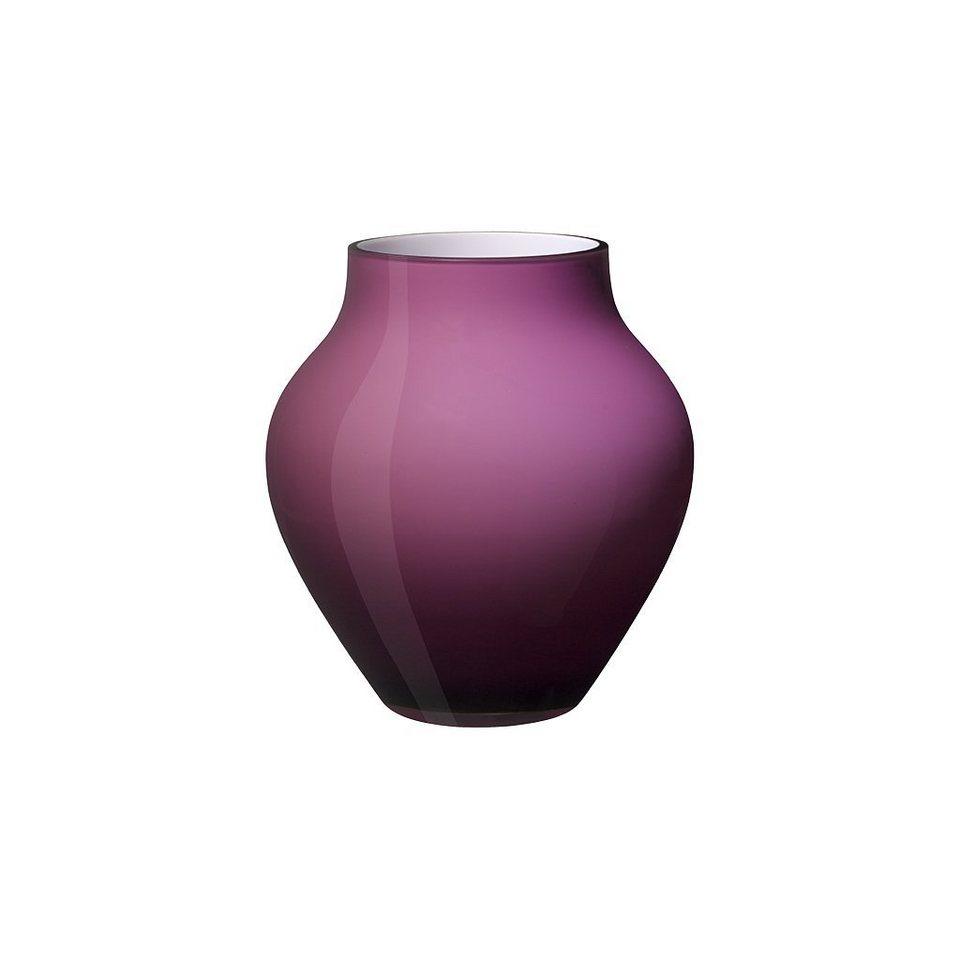 VILLEROY & BOCH Vase groß soft raspberry 210mm »Oronda« in Dekoriert