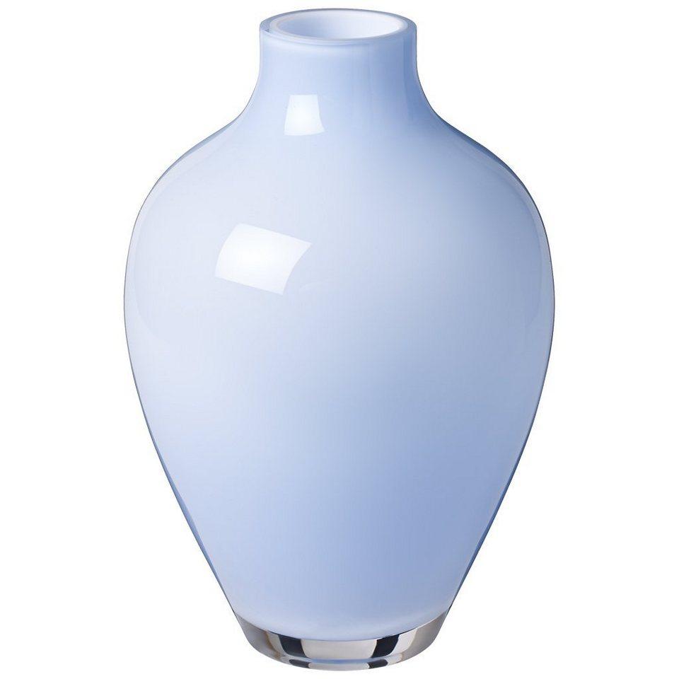 VILLEROY & BOCH Vase mellow blue 160mm »Tiko Mini« in Dekoriert