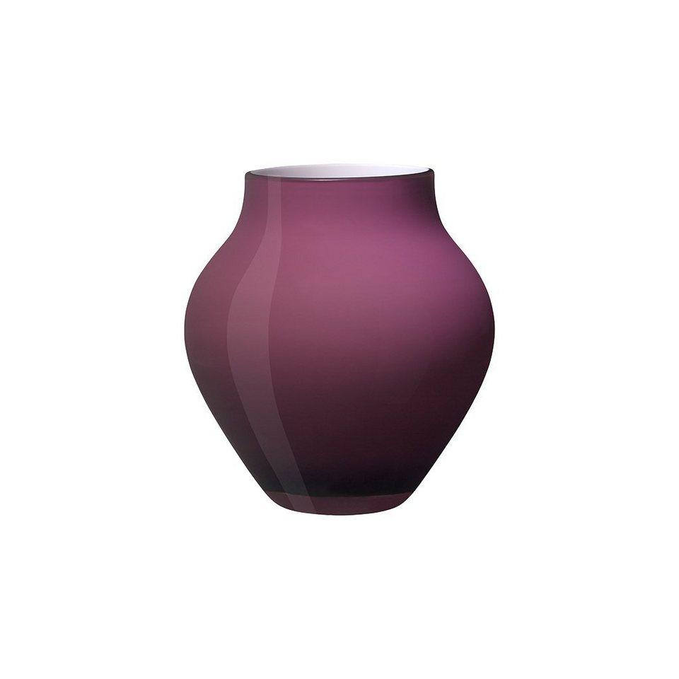 VILLEROY & BOCH Vase klein soft raspberry 170mm »Oronda« in Dekoriert