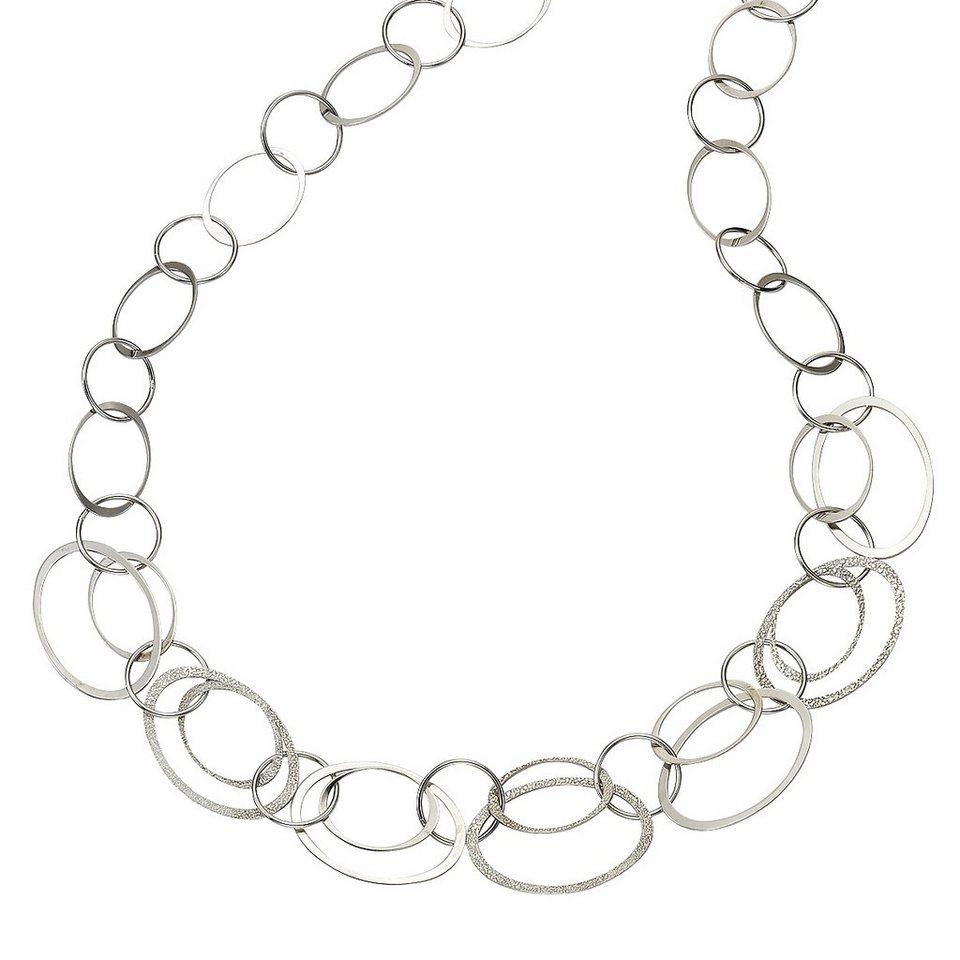 CELESTA Collier »925/- Sterling Silber« in weiß