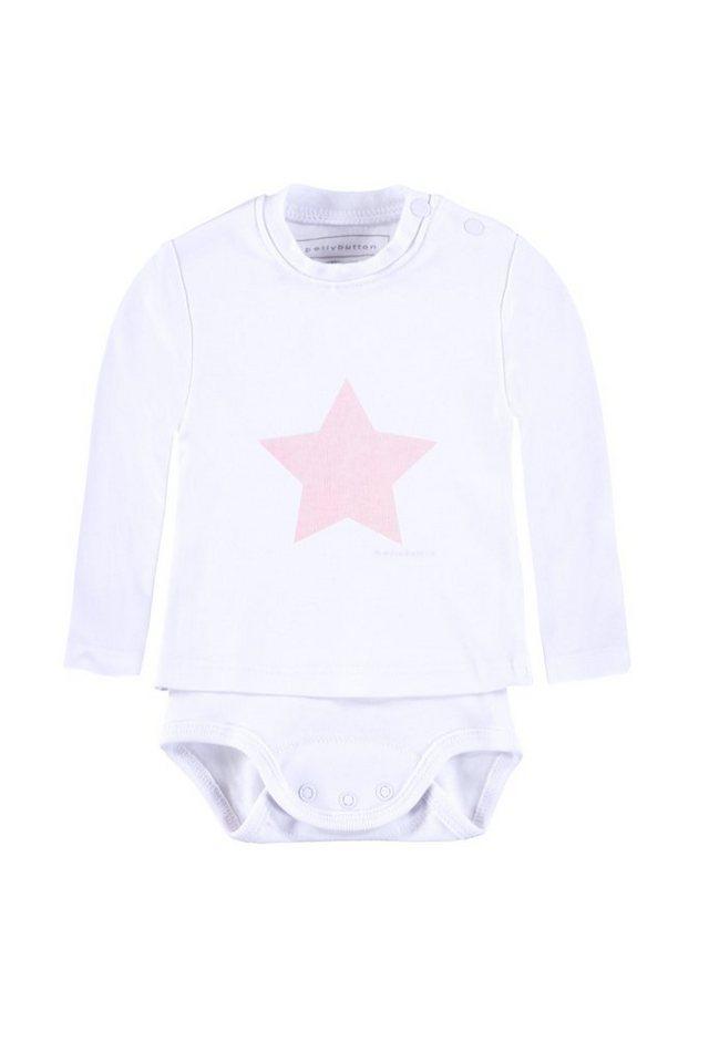BELLYBUTTON 2in 1 Body mit Shirt »mit Stern« in cradle pink