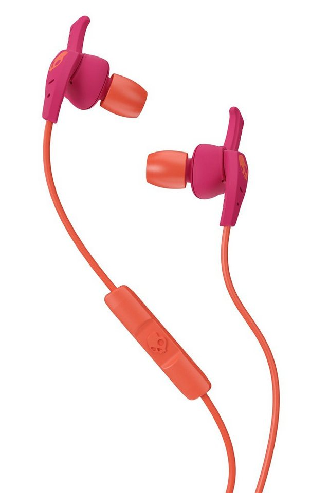 Skullcandy Headset »XTPLYO IN-EAR W/MIC 2 WOMENS PINK/ORANGE/ORANGE« in pink