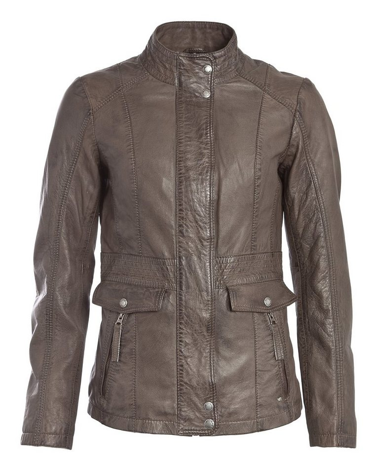 Mustang Lederjacke, Damen »Jasmin« in brown