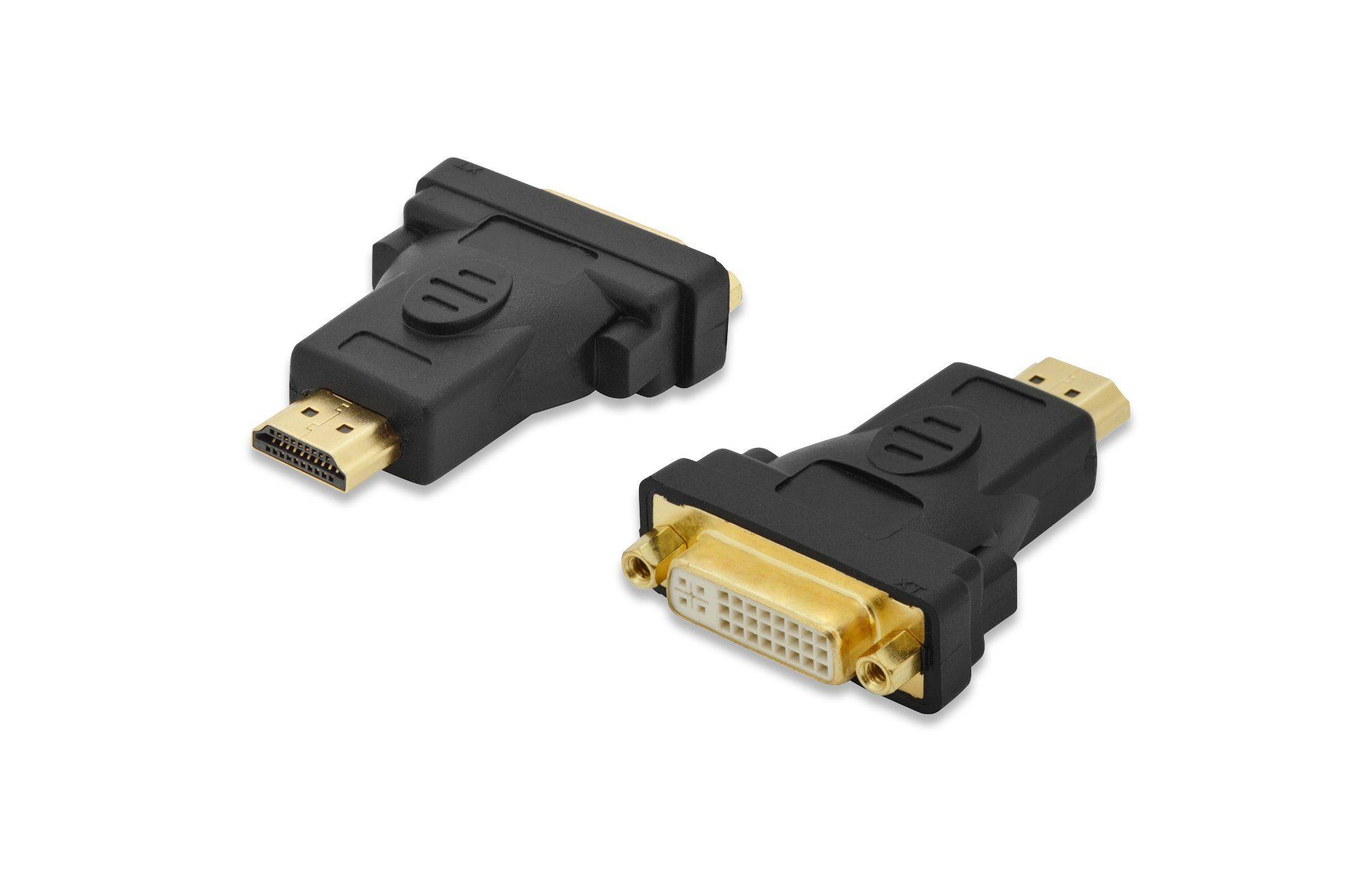 Ednet HDMI »HDMI Adapter,Typ A-DVI-I(24+5),St/Bu«