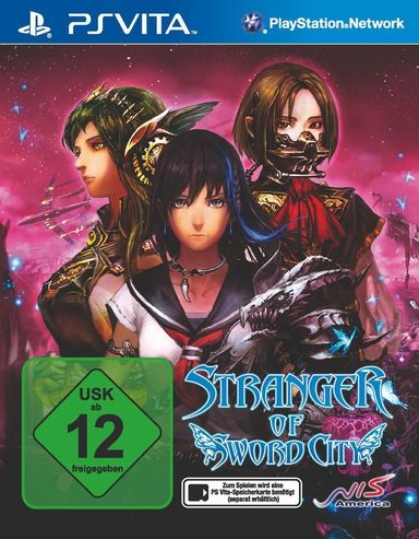 nis playstation vita spiel stranger of sword city. Black Bedroom Furniture Sets. Home Design Ideas