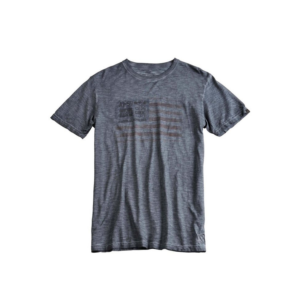 ALPHA INDUSTRIES T-Shirt »Cage Code T« in greyblack