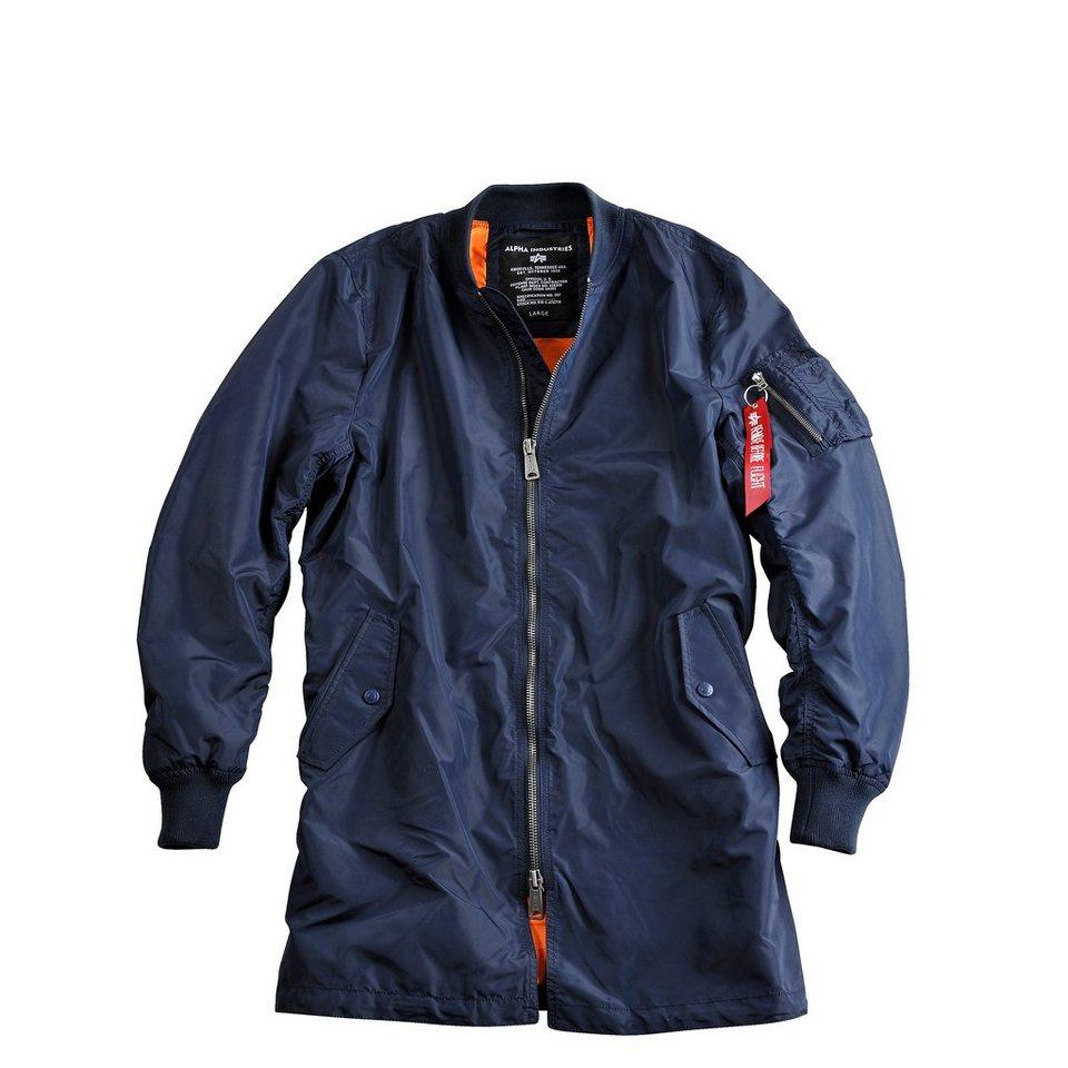 ALPHA INDUSTRIES Jacke »MA-1 TT Coat« in rep.blue