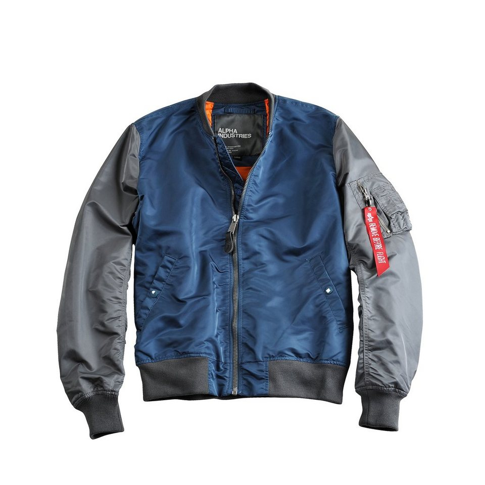 ALPHA INDUSTRIES Jacke »MA-1 2C« in bold/stone