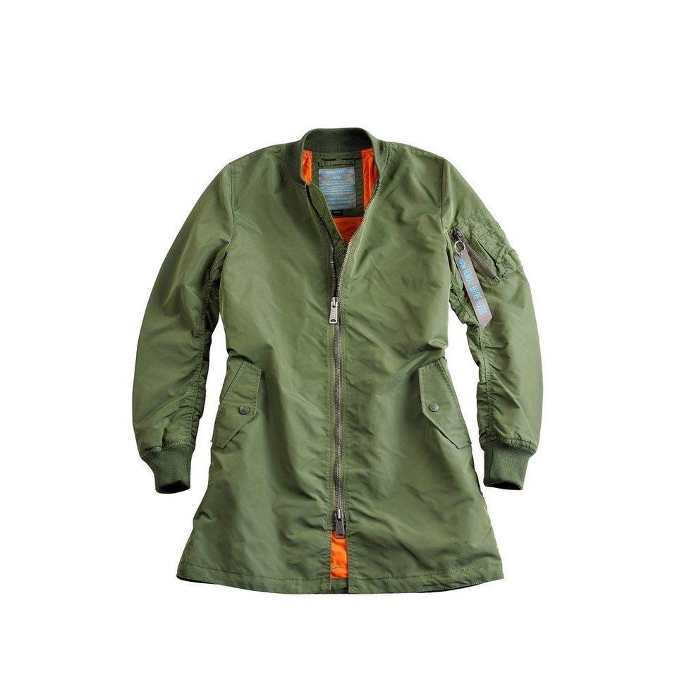 ALPHA INDUSTRIES Jacke »MA-1 TT Coat Wmn« in sage-green