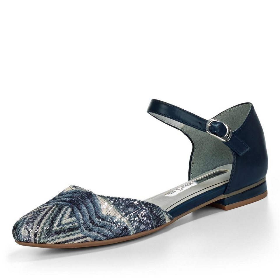 Tamaris Valon Ballerina in blau