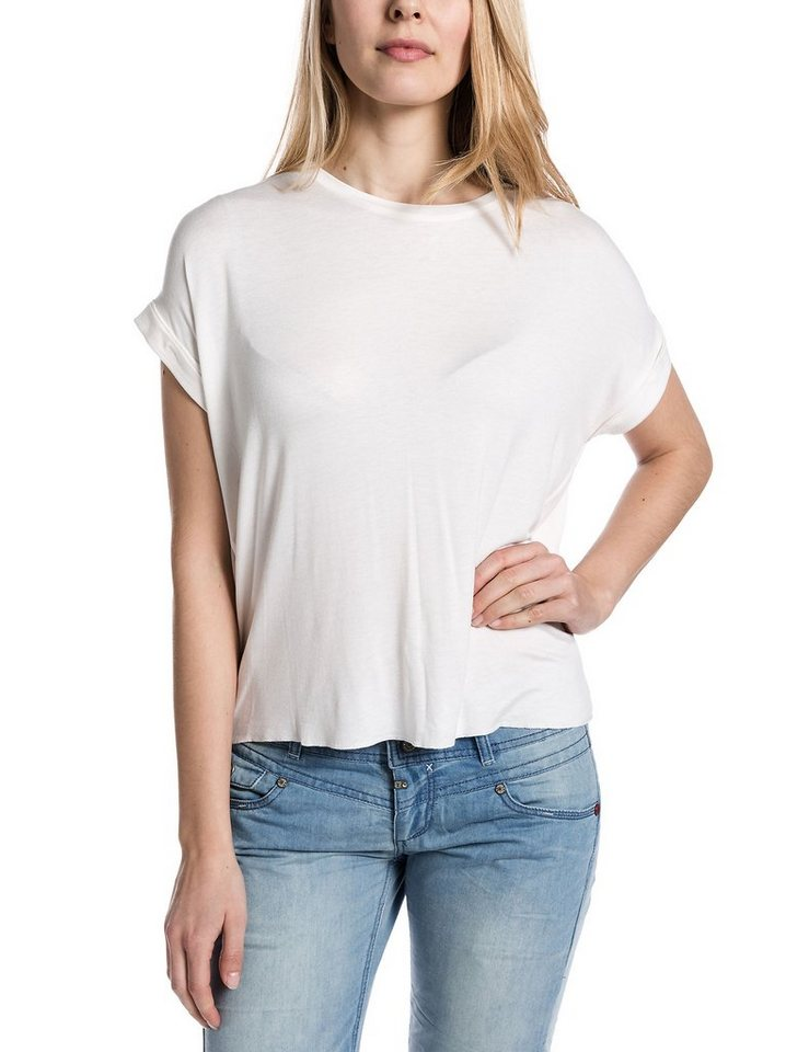 TIMEZONE T-Shirts (mit Arm) »Oversize t-shirt« in pure white