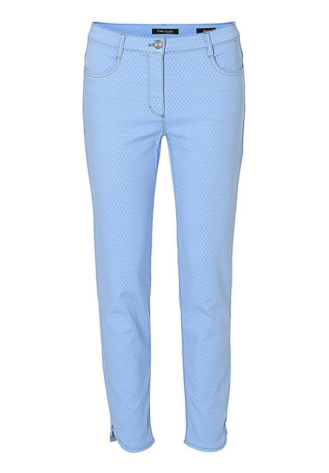 Betty Barclay Damenhose in Frosted Blue - Bunt