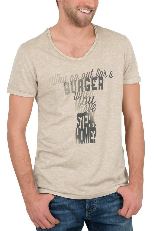 NAGANO T-Shirt »OFUNA« in sand