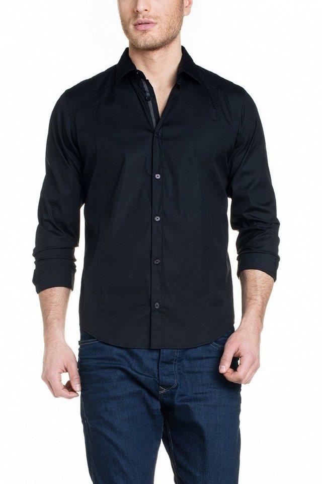 salsa jeans Hemd in Black