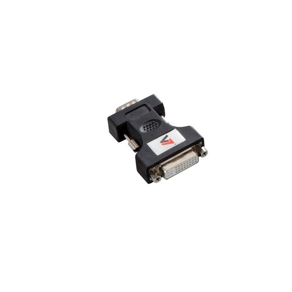 V7 DVI »ADAPTER VGA TO DVI-I BLACK«