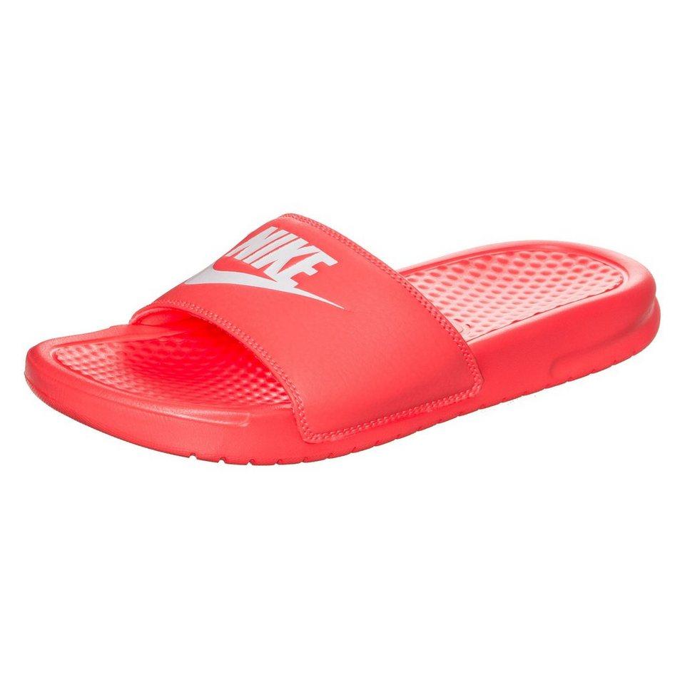 Nike Sportswear Benassi Just Do It Badesandale Damen in mango