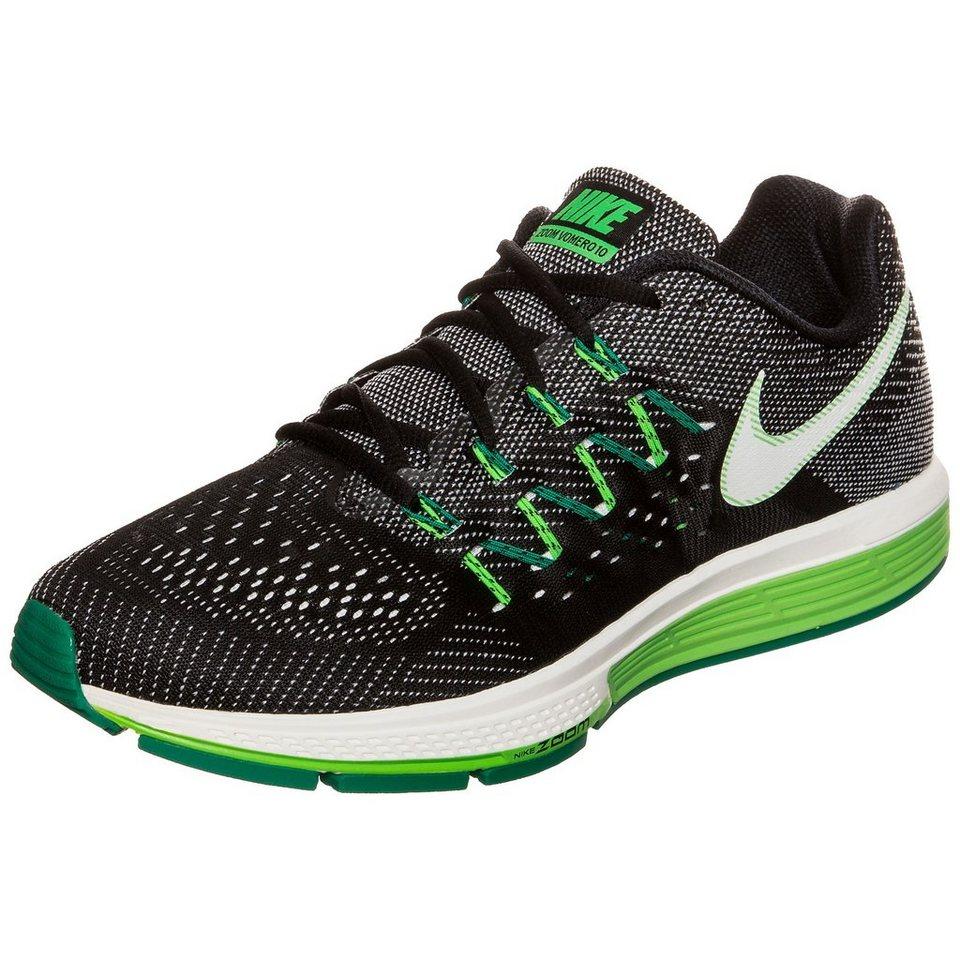 NIKE Air Zoom Vomero 10 Laufschuh Herren in schwarz / grün