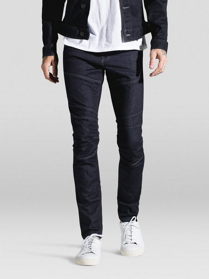 Jack & Jones Glenn Bl 573 Slim Fit Jeans in Blue Denim