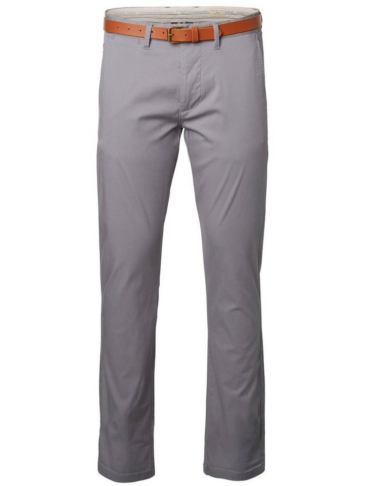 Selected Slim-Fit- Chino in Monument