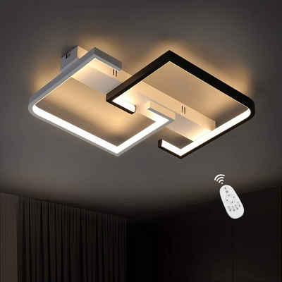 ZMH LED Deckenleuchte »Deckenlampe dimmbar mit Fernbedienung 35W für Schlafzimmer Küche Wohnzimmer«