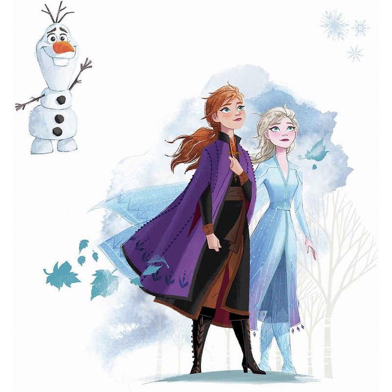 RoomMates Wandsticker »Wandsticker Disney Frozen II - Anna & Elsa«