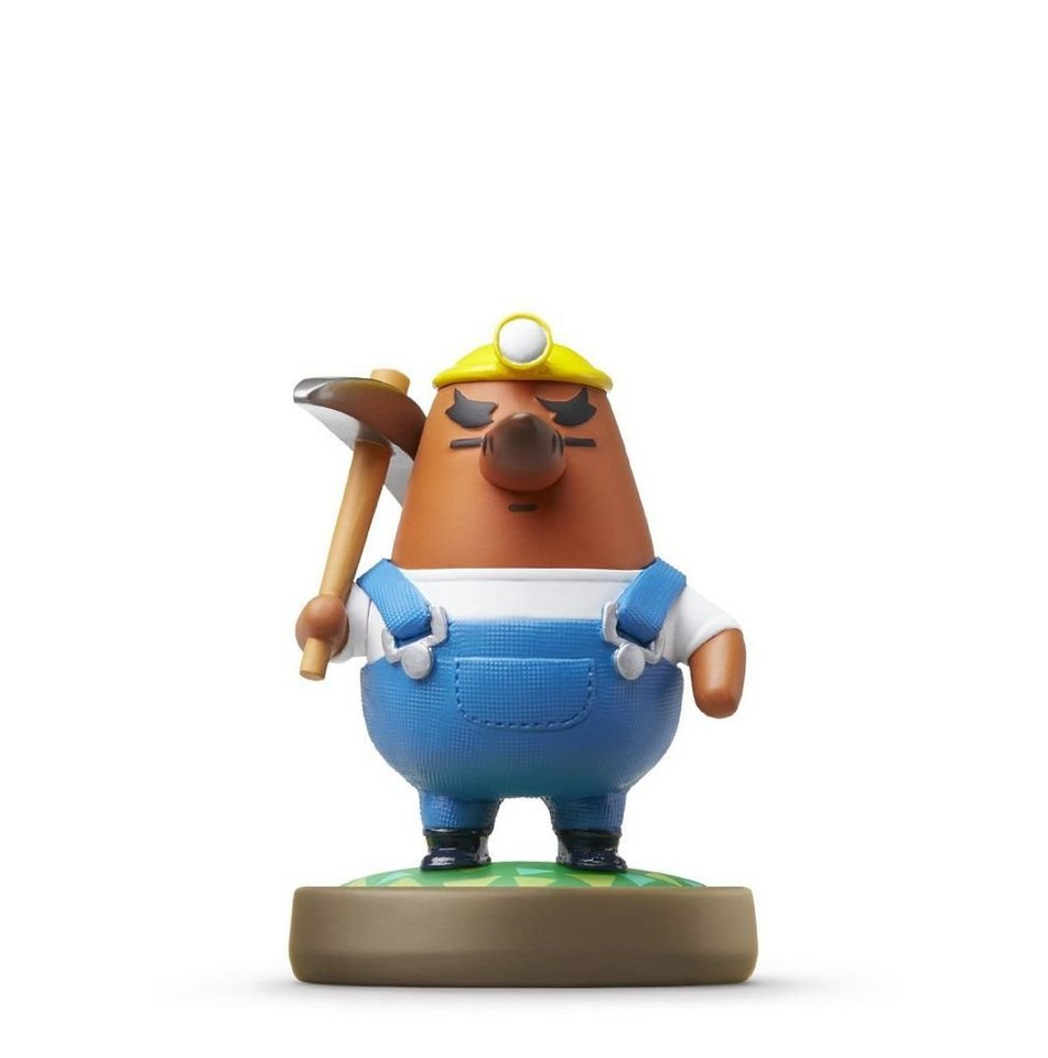 nintendo wii u spiel amiibo animal crossing resetti. Black Bedroom Furniture Sets. Home Design Ideas
