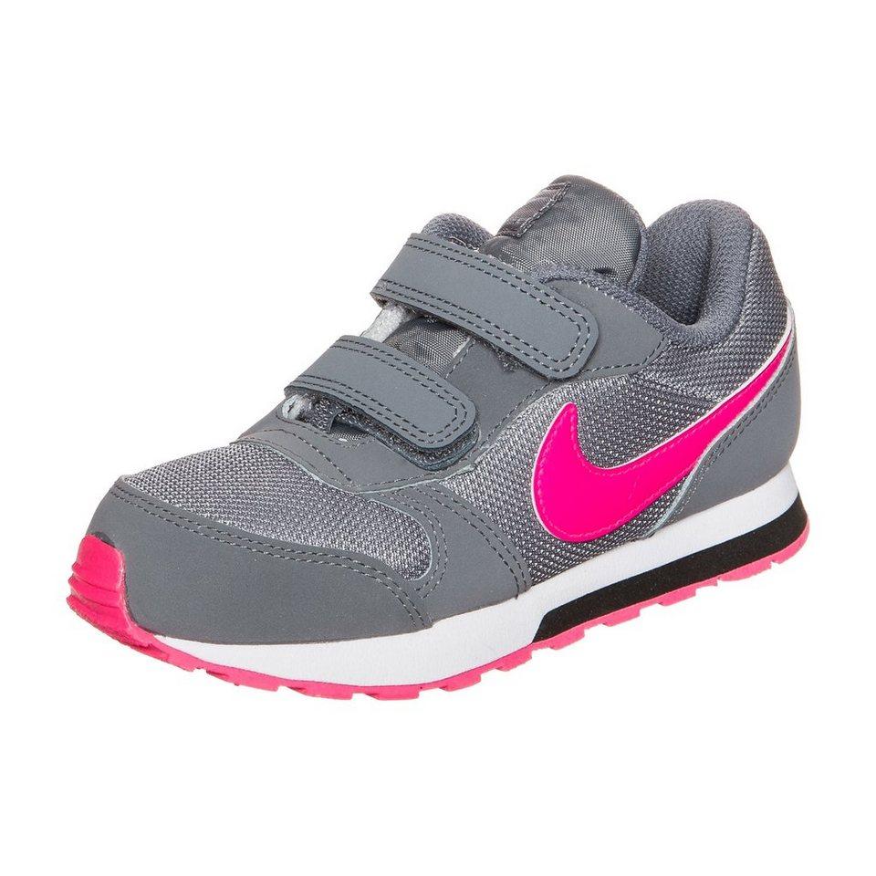 Nike Sportswear MD Runner 2 Sneaker Kleinkinder in grau / pink