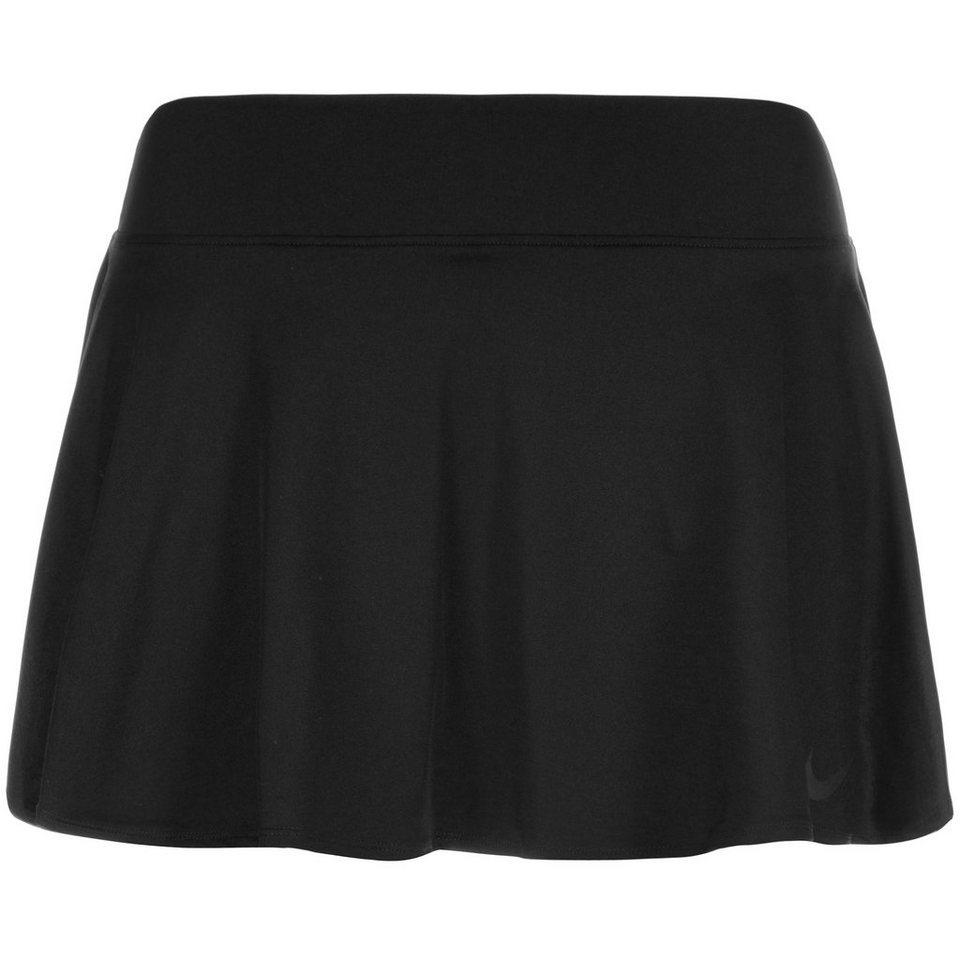 NIKE Court Baseline Tennisrock Damen in schwarz