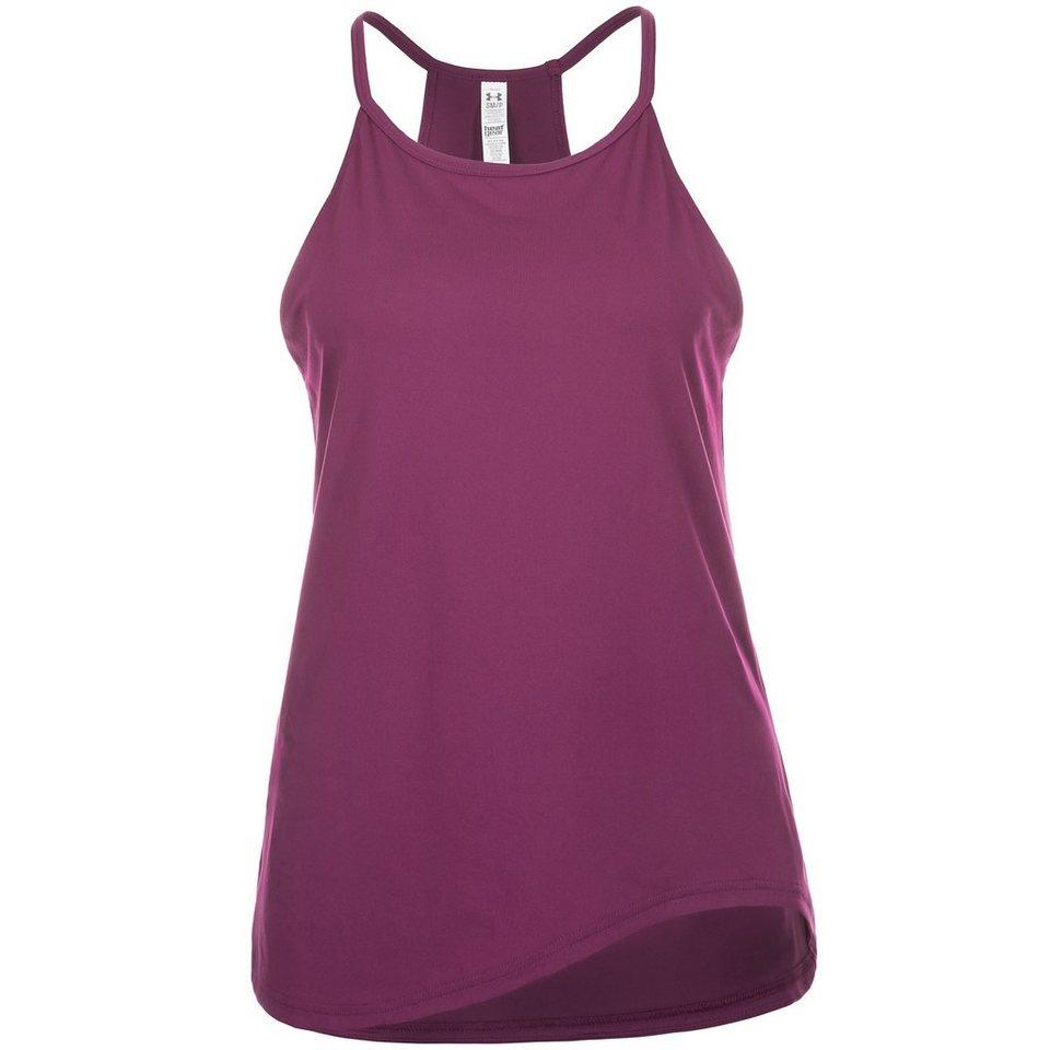 Under Armour® HeatGear Asym Tech Trainingstank Damen in lila