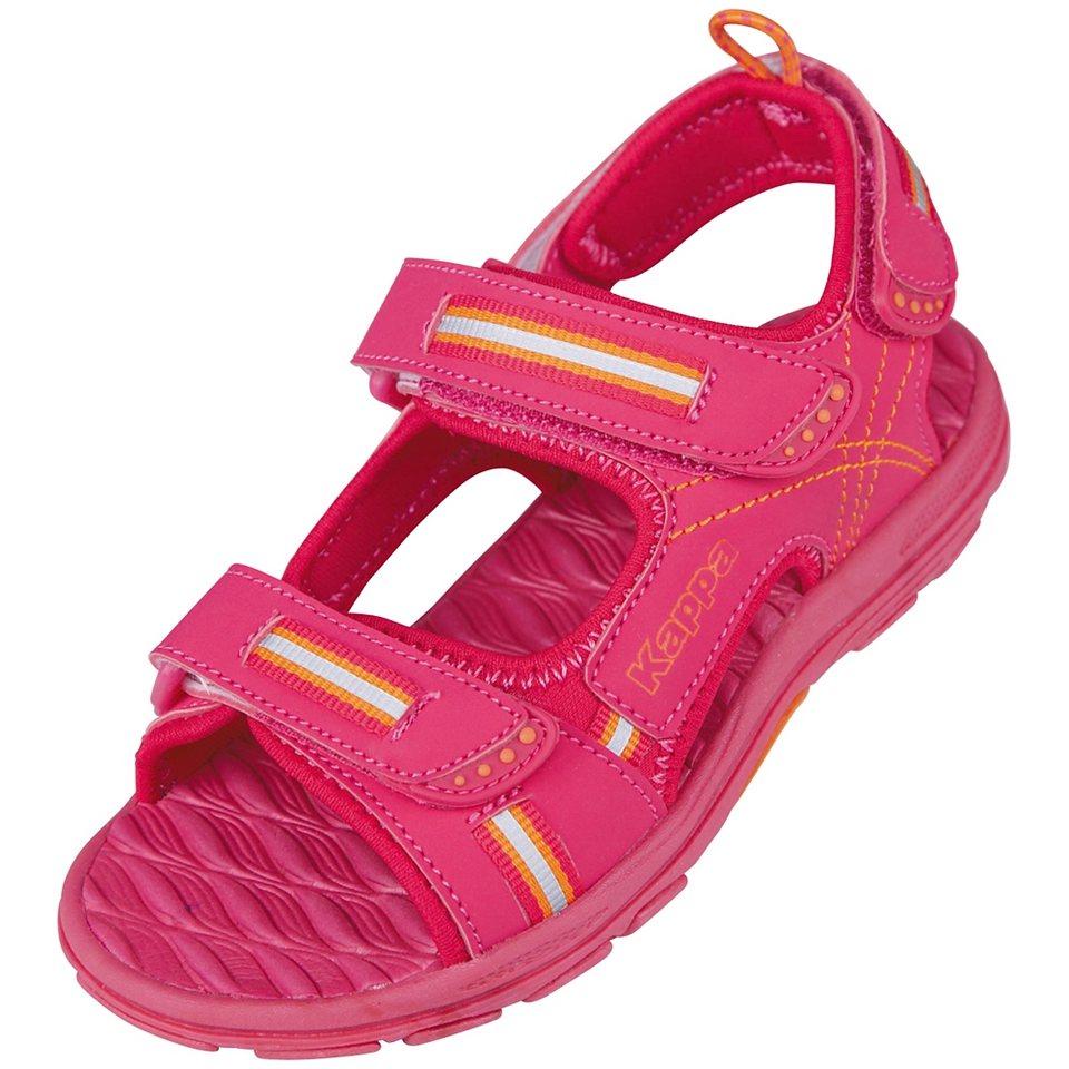 KAPPA Sandale »KORFU KIDS« in pink/orange
