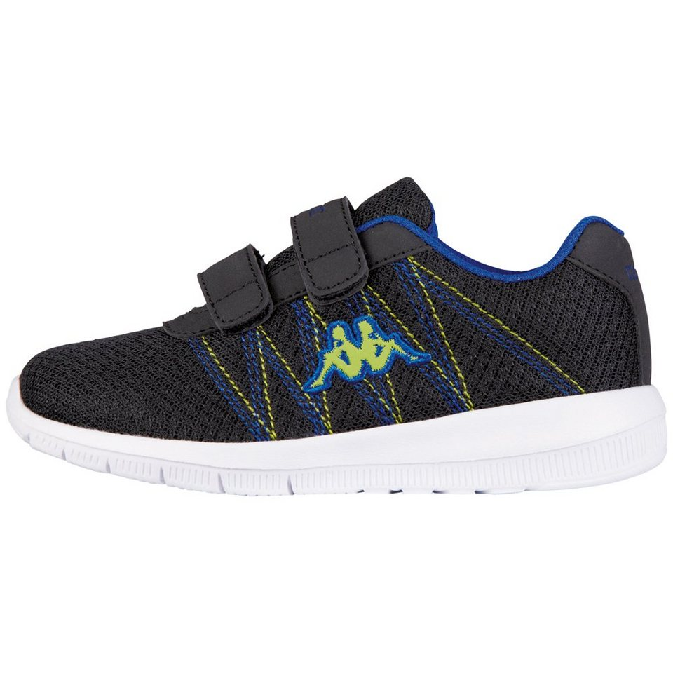 KAPPA Sneaker »FLIMSY KIDS« in black/blue