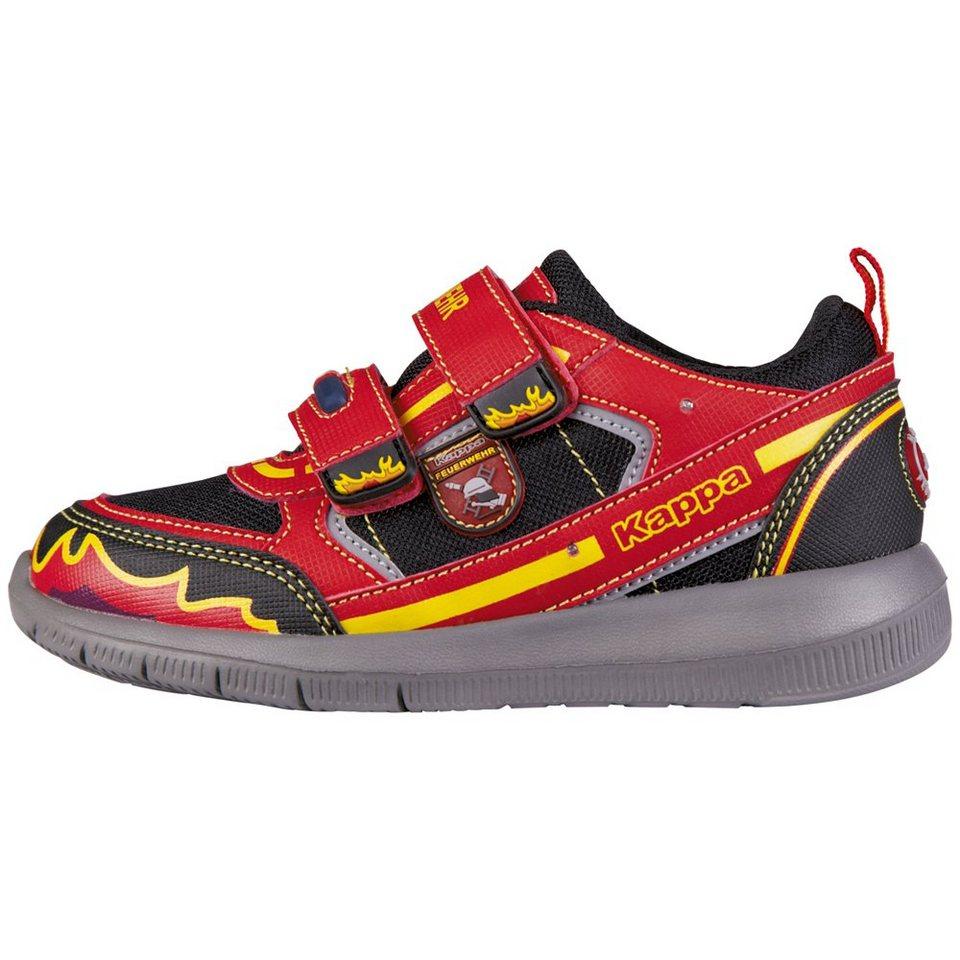 KAPPA Sneaker »FEUERWEHR LOW II KIDS« in red/black
