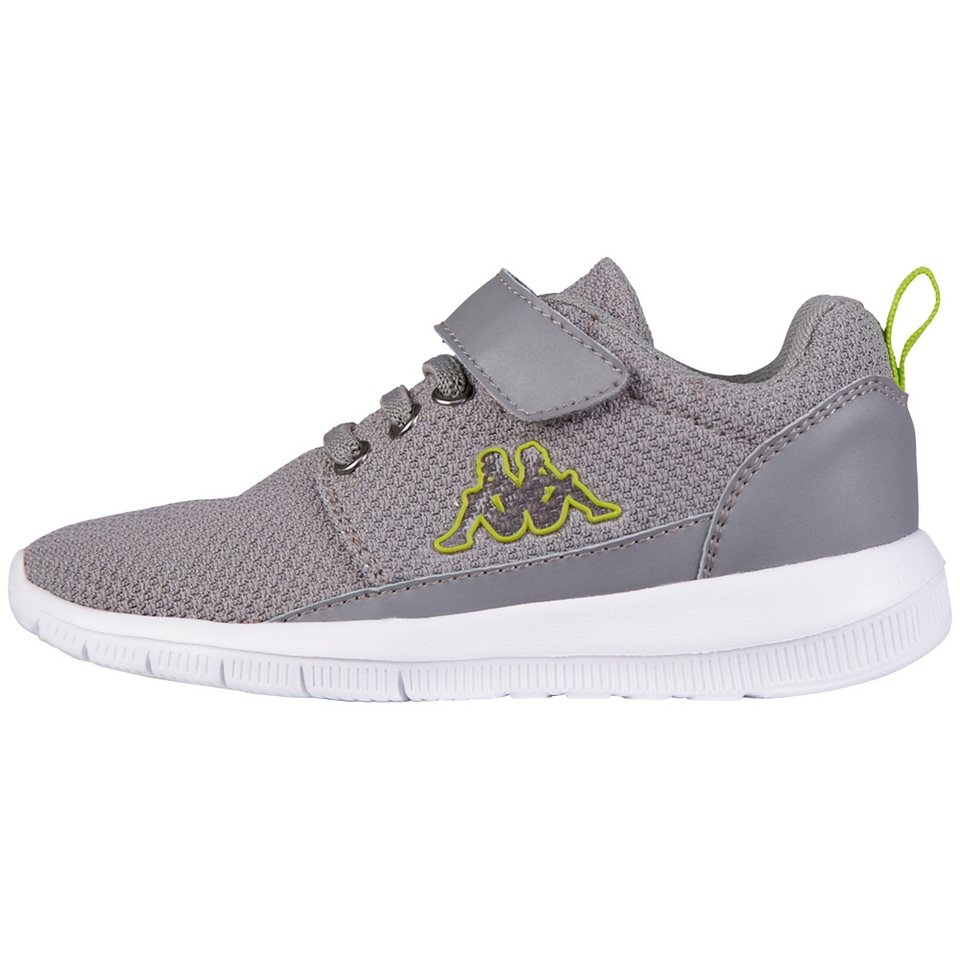 KAPPA Sneaker »SPEED 2.1 KIDS« in grey/lime