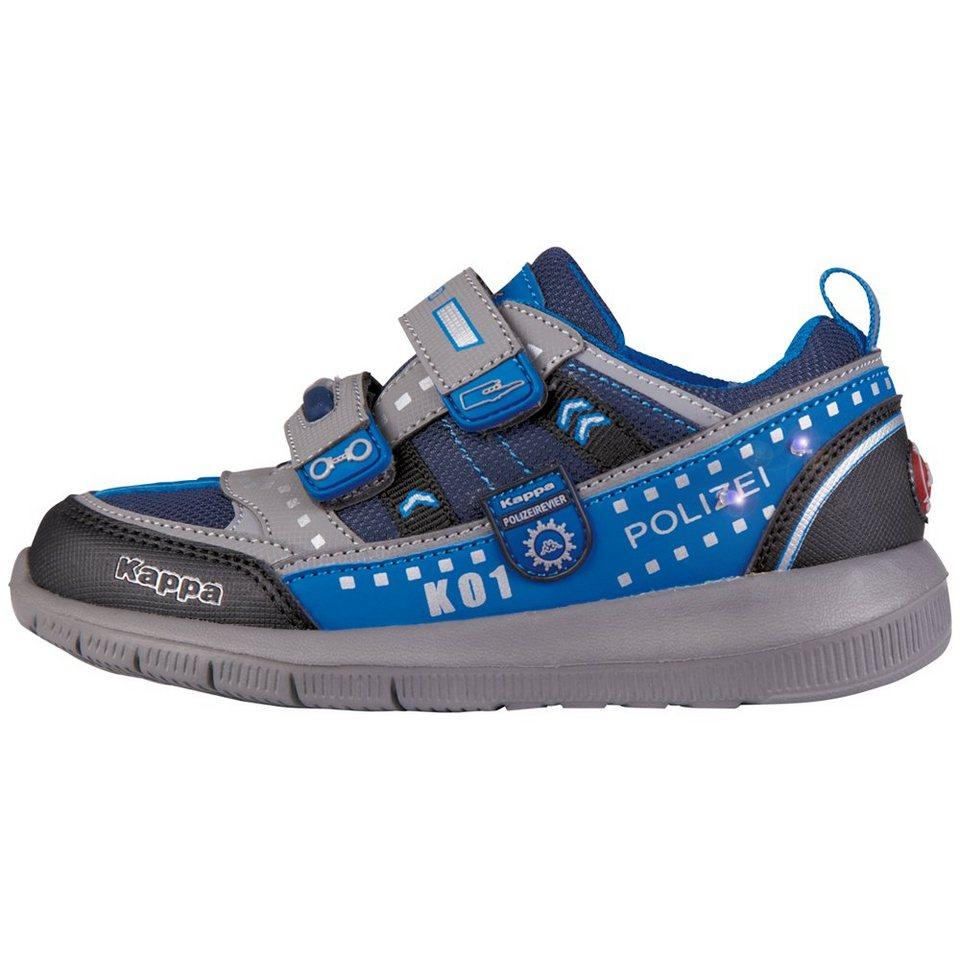 KAPPA Sneaker »POLIZEI LOW II KIDS« in grey/blue