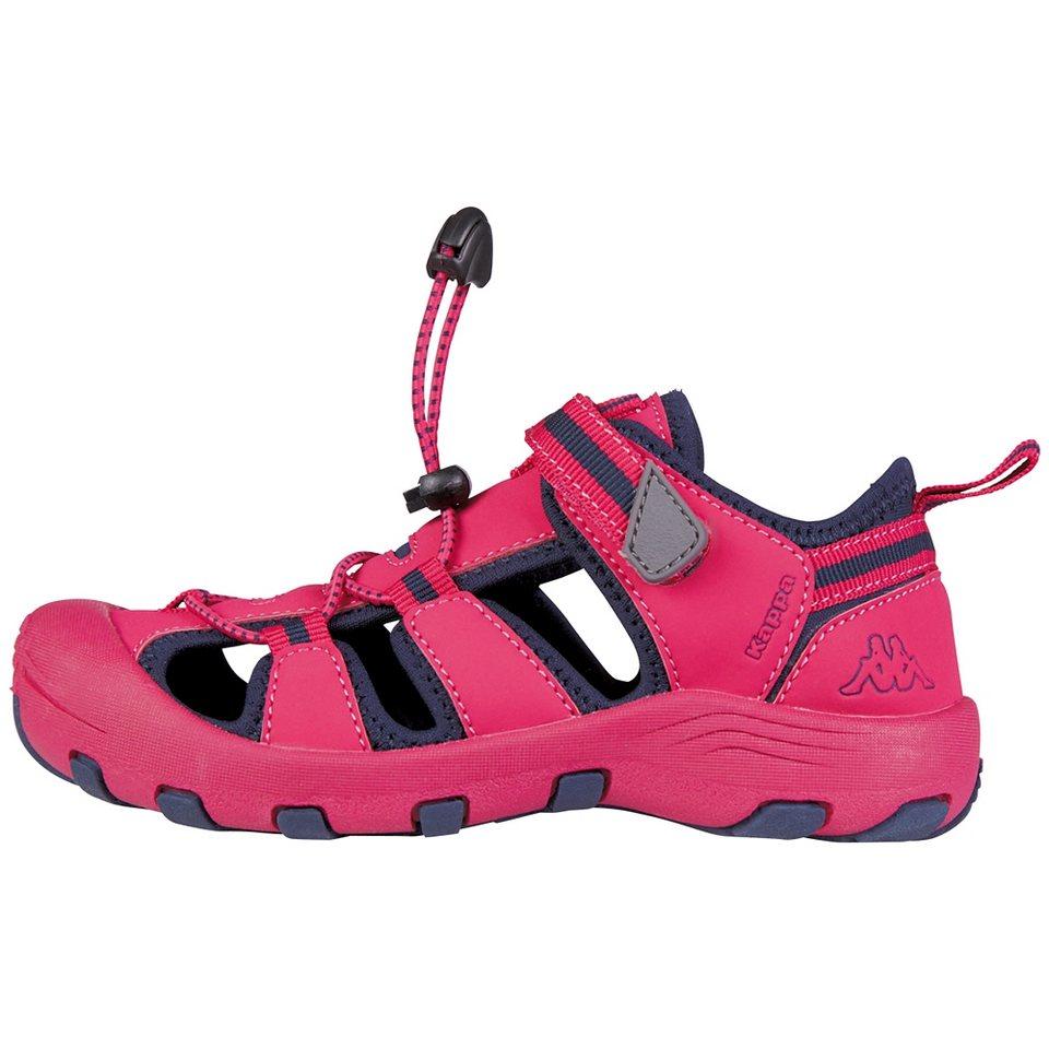 KAPPA Sandale »DOWNEY KIDS« in pink/navy