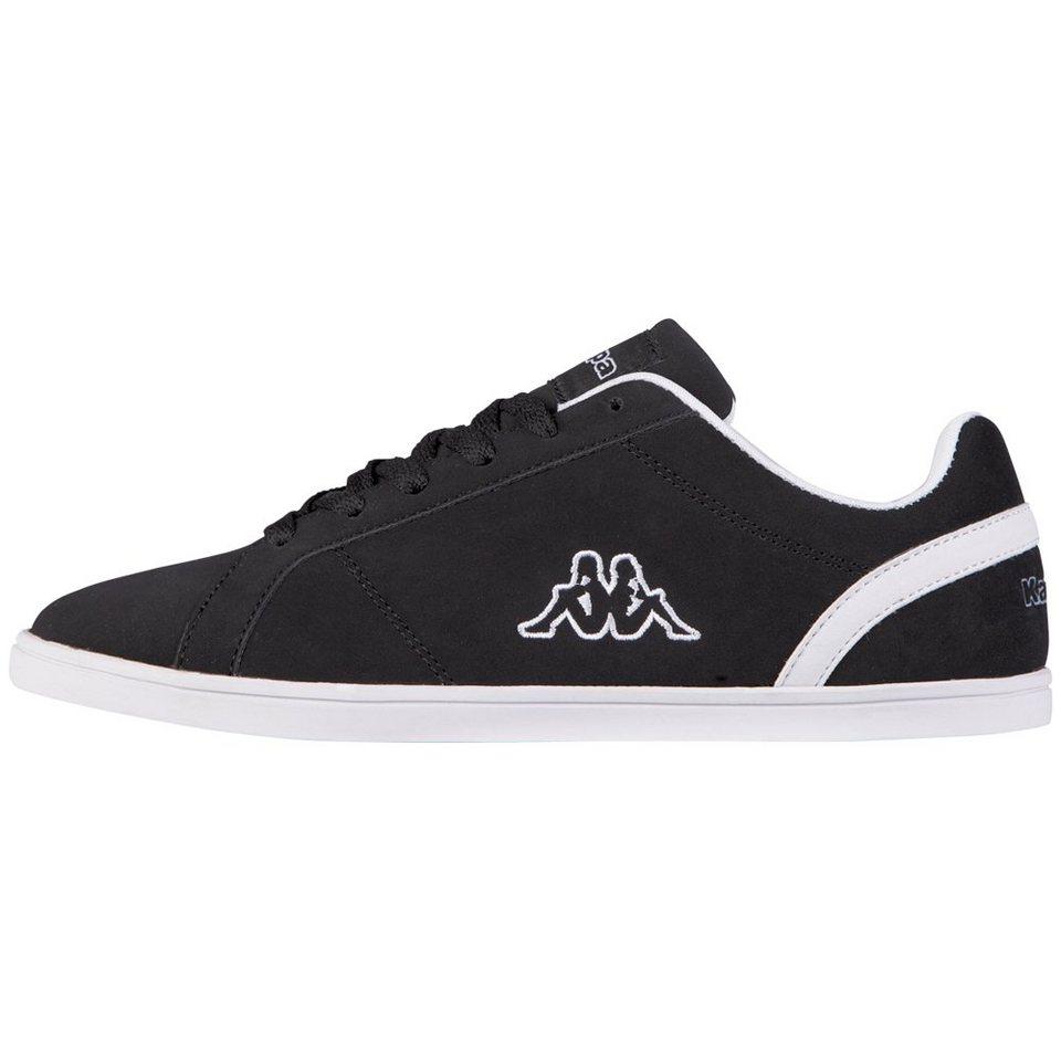 KAPPA Sneaker »TASU« in black/white
