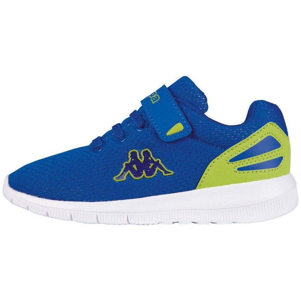 KAPPA Sneaker »TRUST KIDS« in blue/lime