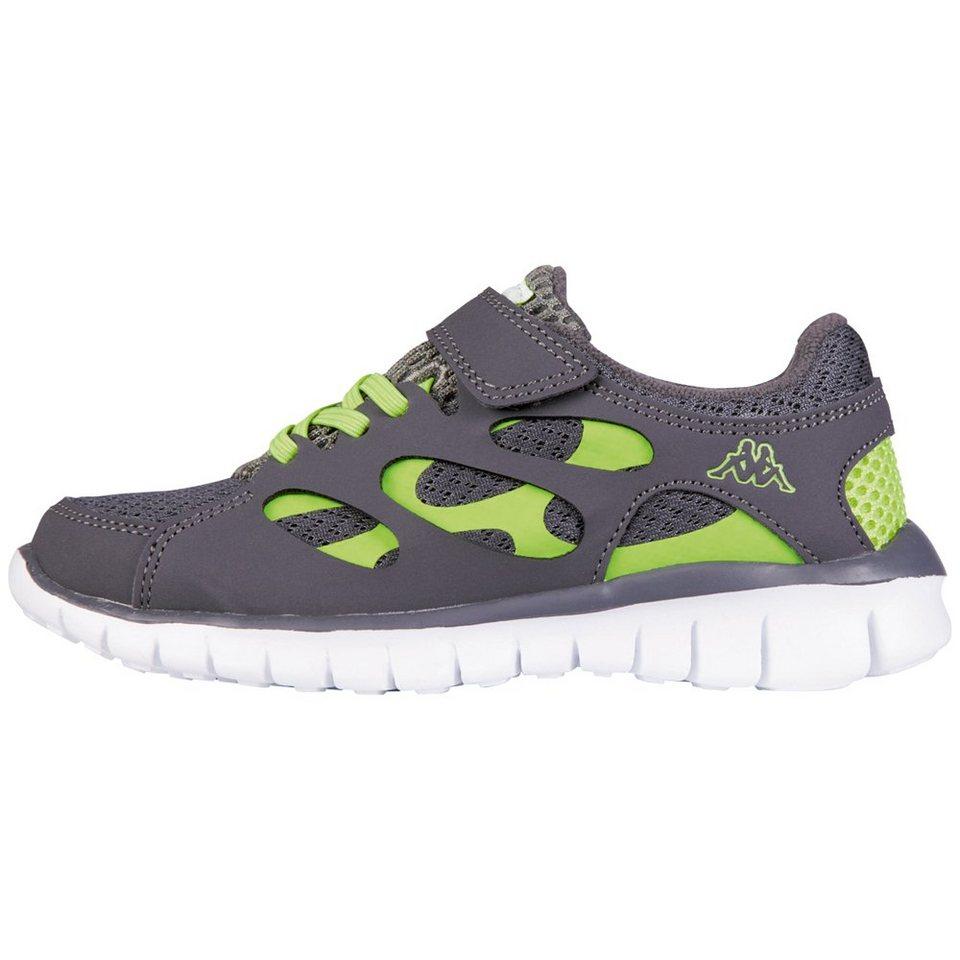 KAPPA Sneaker »FOX LIGHT KIDS« in grey/lime