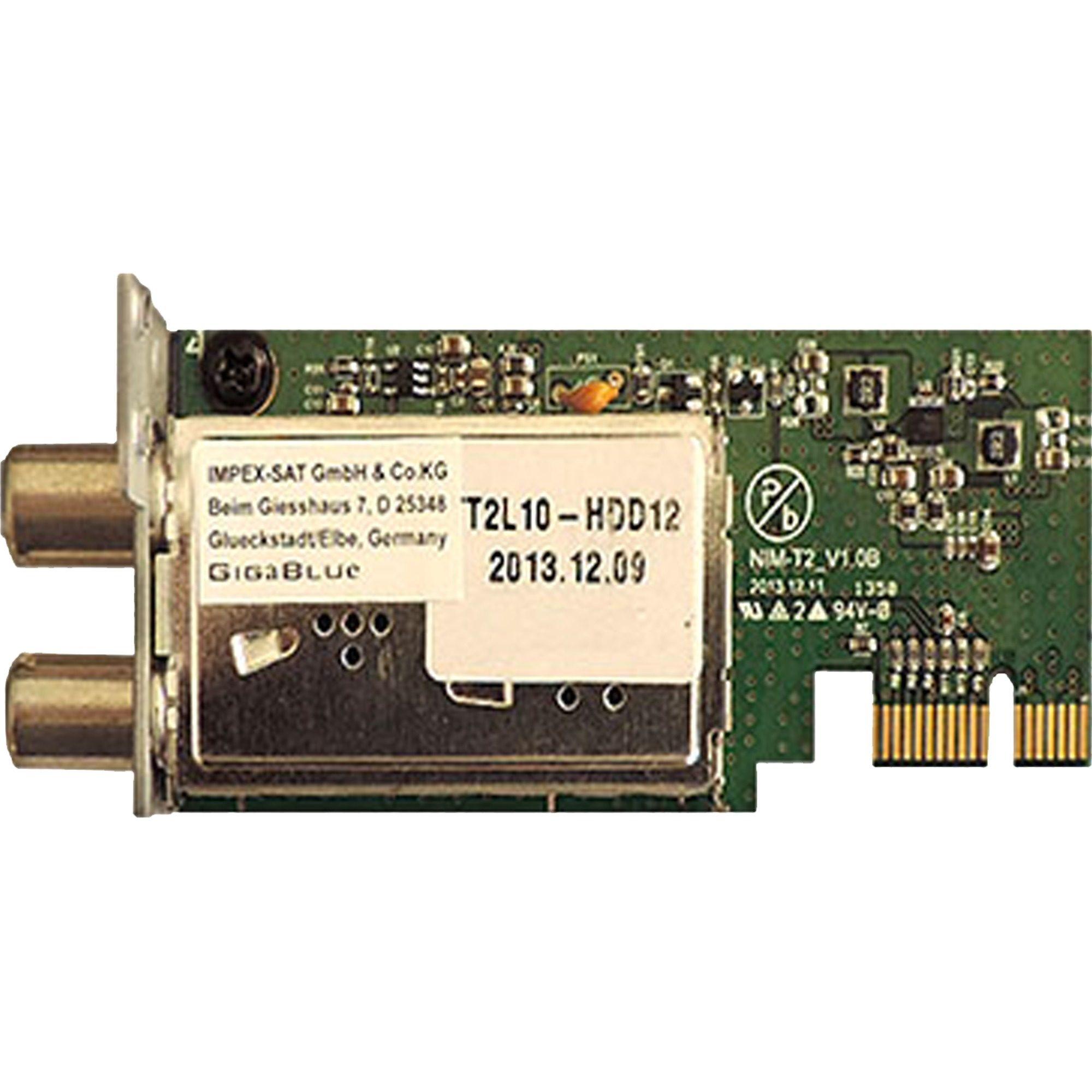 GigaBlue Tuner »DVB-C/T2 Hybrid Tuner«