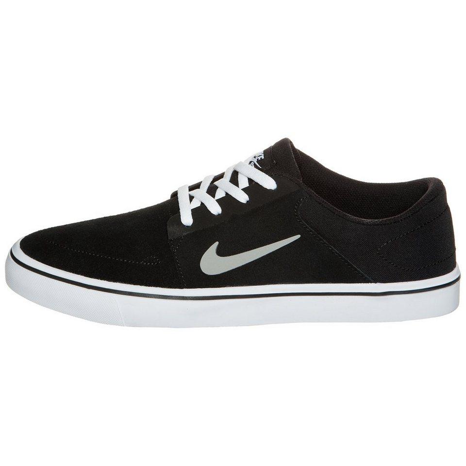 NIKE Portmore Sneaker Herrren in schwarz / grau / wei