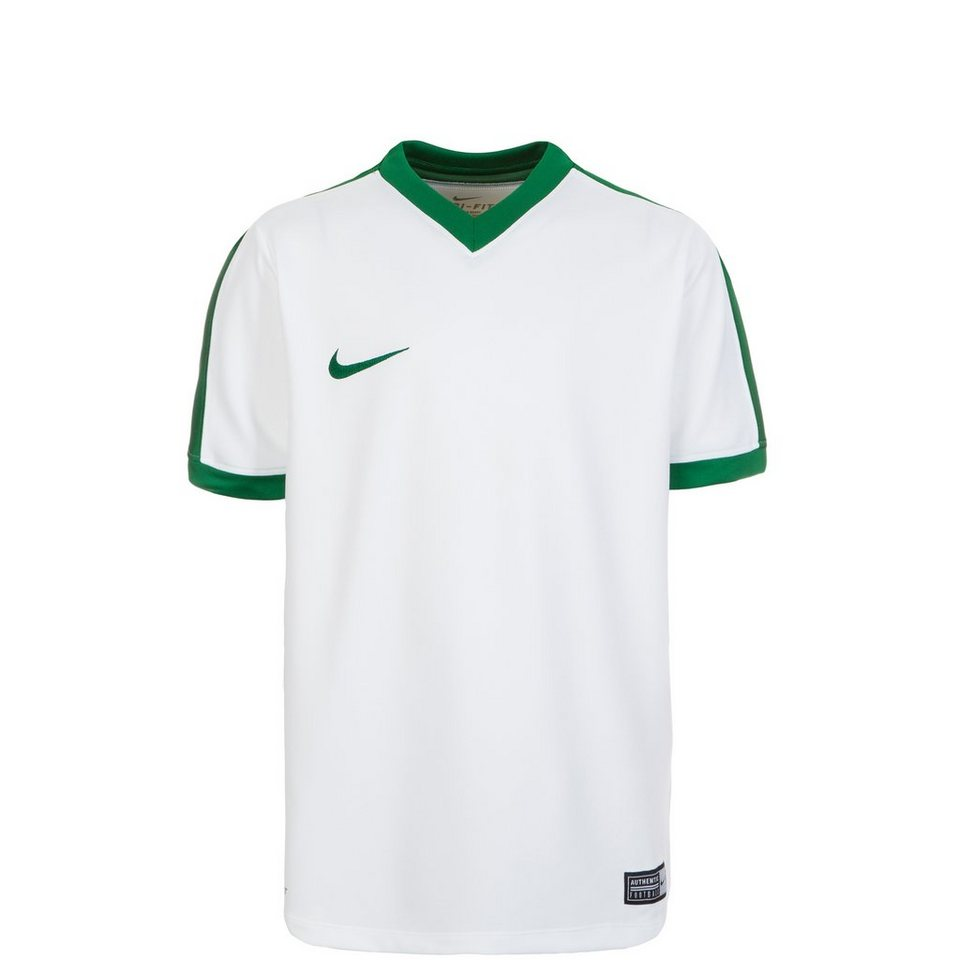NIKE Striker IV Fußballtrikot Kinder in weiß / grün