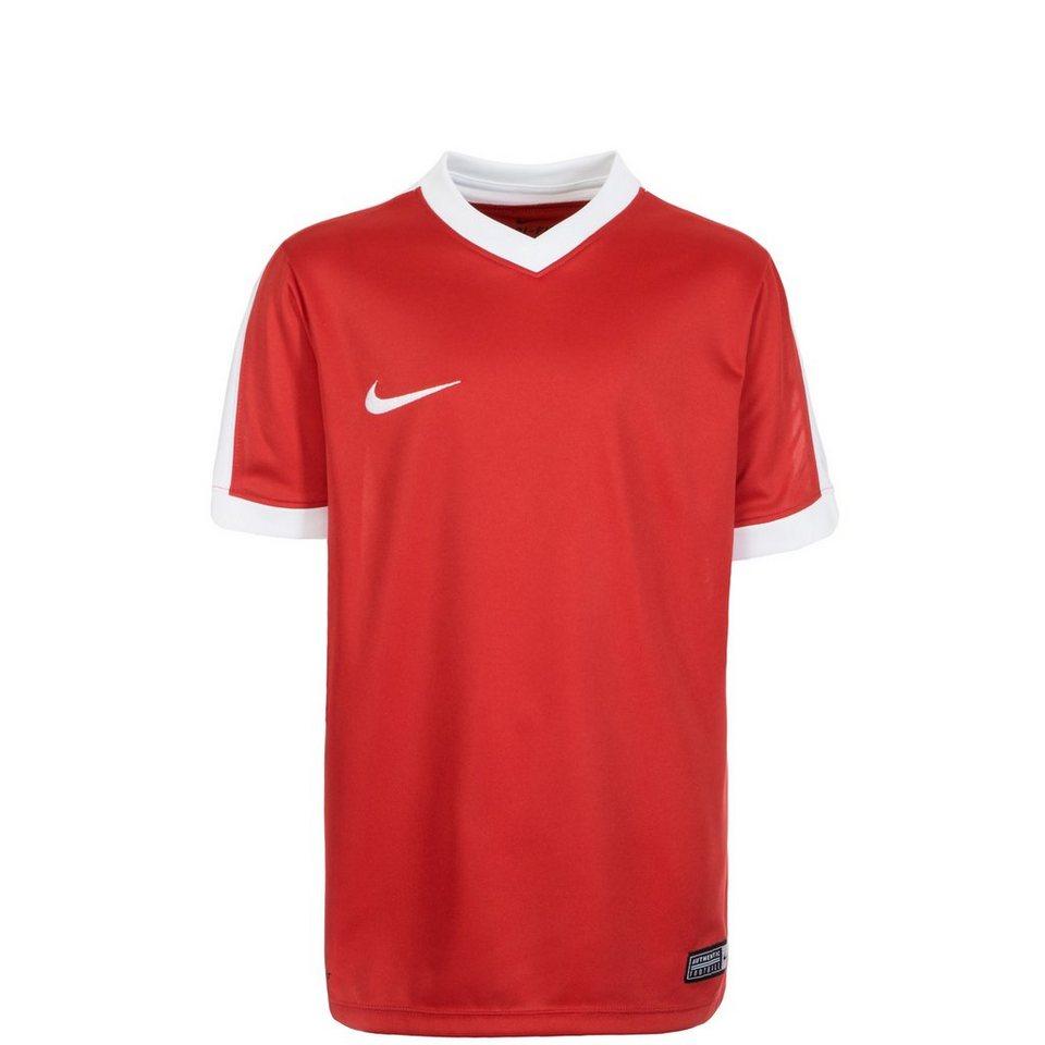 NIKE Striker IV Fußballtrikot Kinder in rot / weiß