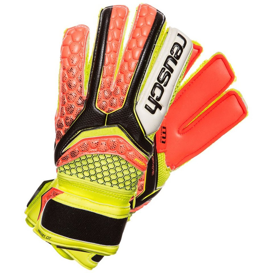 REUSCH Re:pulse Pro M1 Ortho-Tec Torwarthandschuh Kinder in gelb / orange