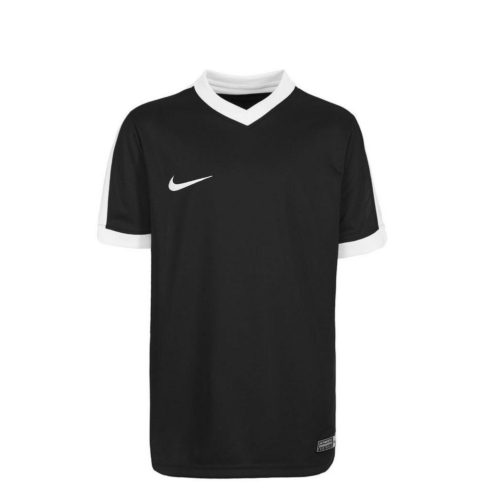 NIKE Striker IV Fußballtrikot Kinder in schwarz / weiß